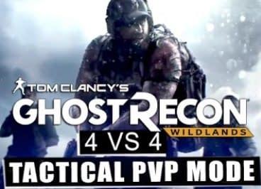 Ghost ReCON WILDLANDS MODALITA' 4VS4
